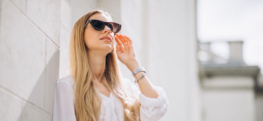 Óculos escuros podem fazer mal quando usados de forma incorreta!