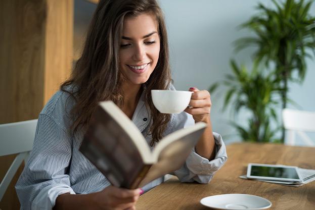Você passa muito tempo lendo? Confira essas dicas.